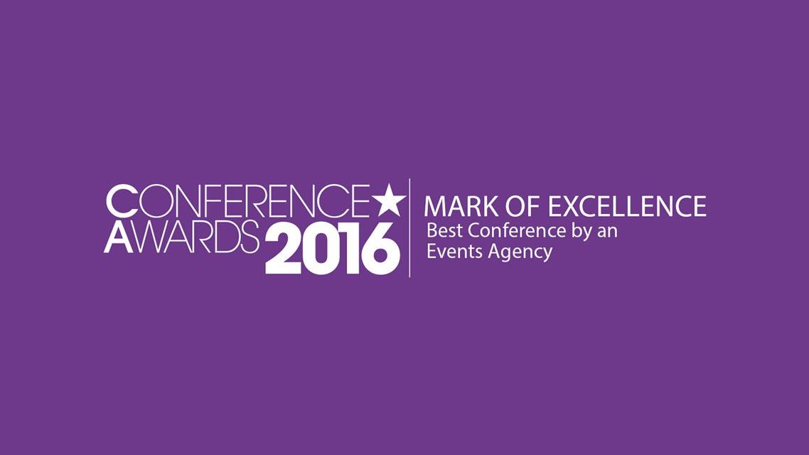 Conference Awards 2016 banner