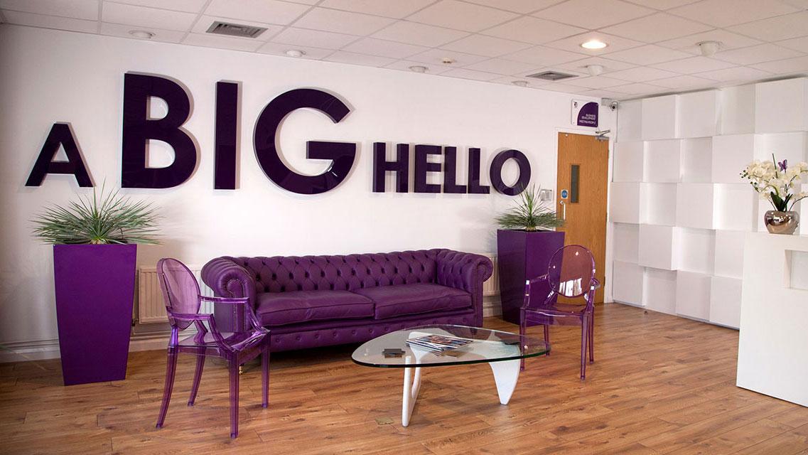 Big Hello Banner