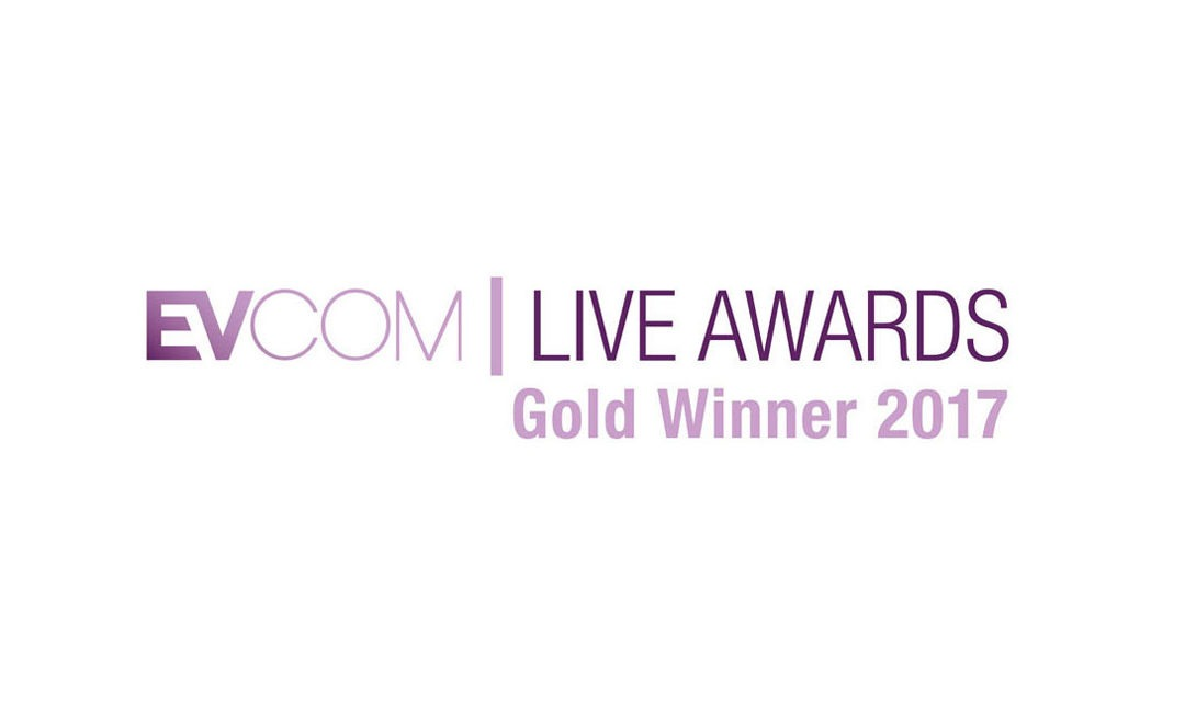 EVCOM Live Awards: We've won gold!