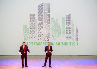Heineken UK National Sales Brief 2017 at Sage Gateshead 2
