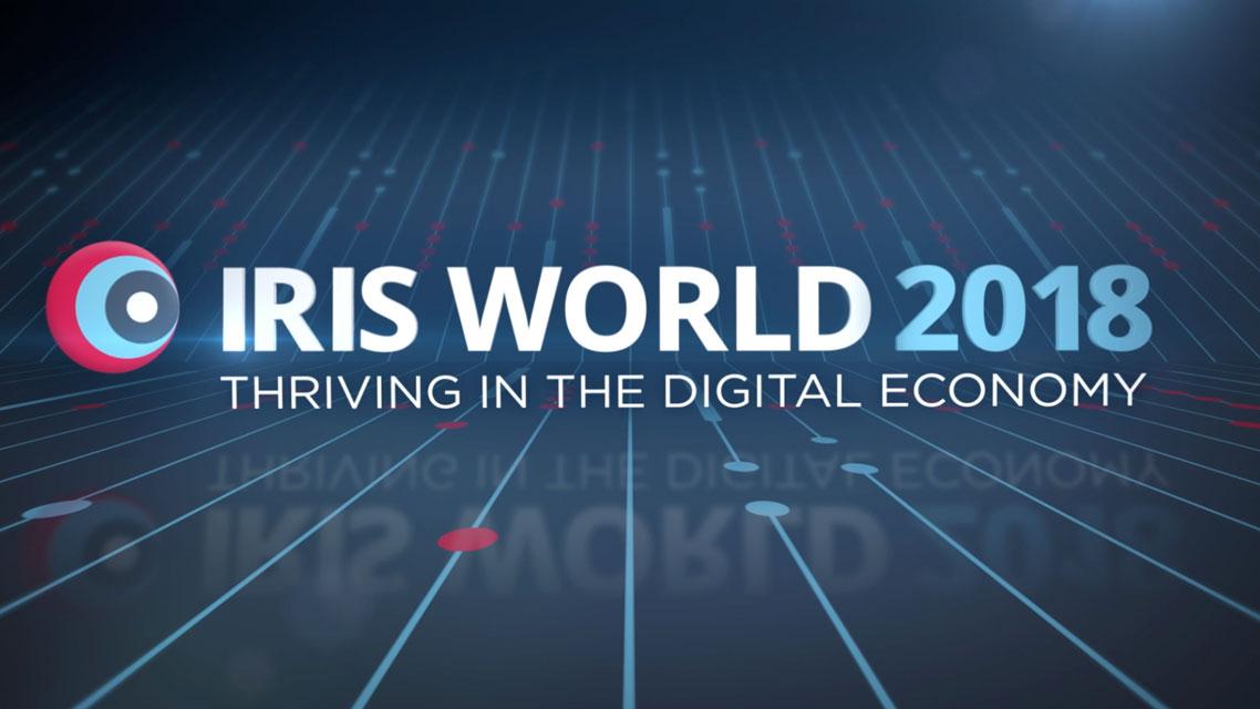 IRIS World 2018 Banner