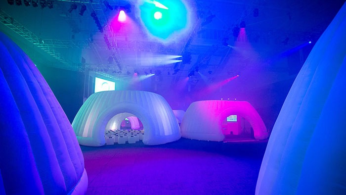 Why choose inflatable pods for Events?