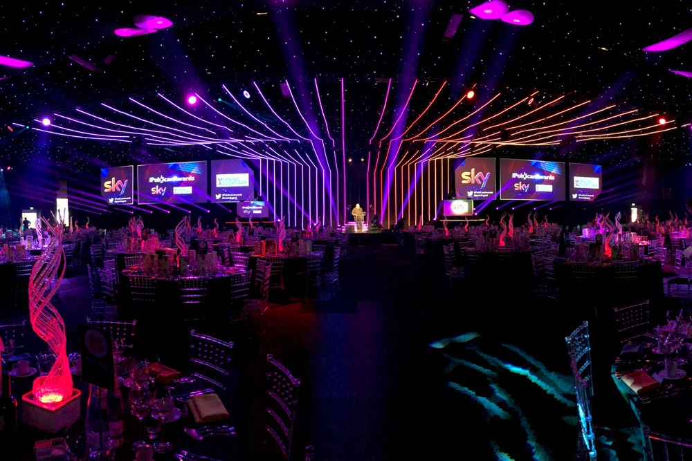 LED Ceiling Design - Corporate Events Company UK