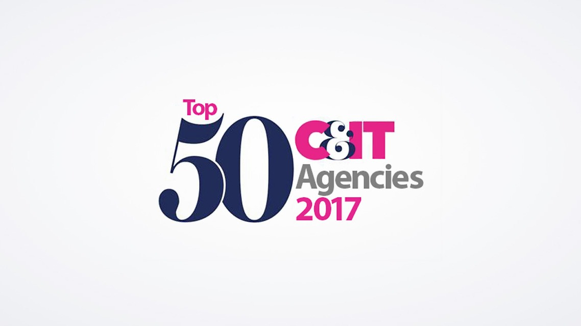C&IT announce the Top 50 UK Agencies for 2017 banner