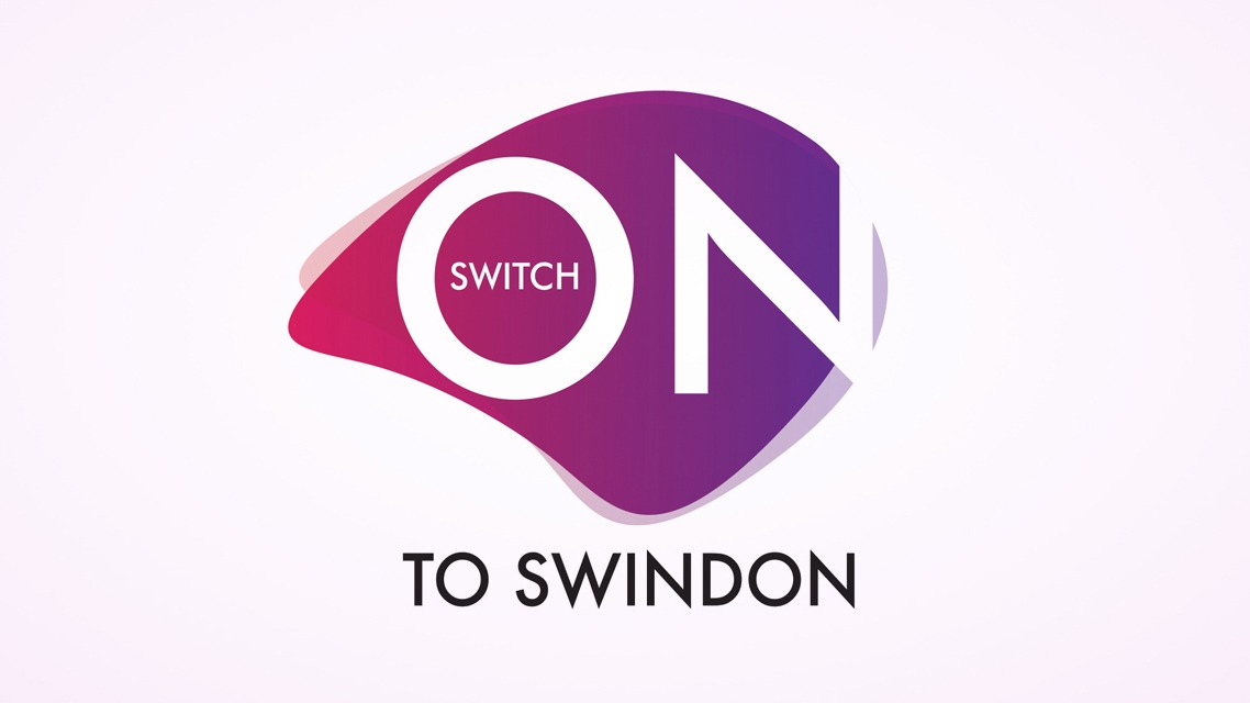 Switch on to Swindon Logo