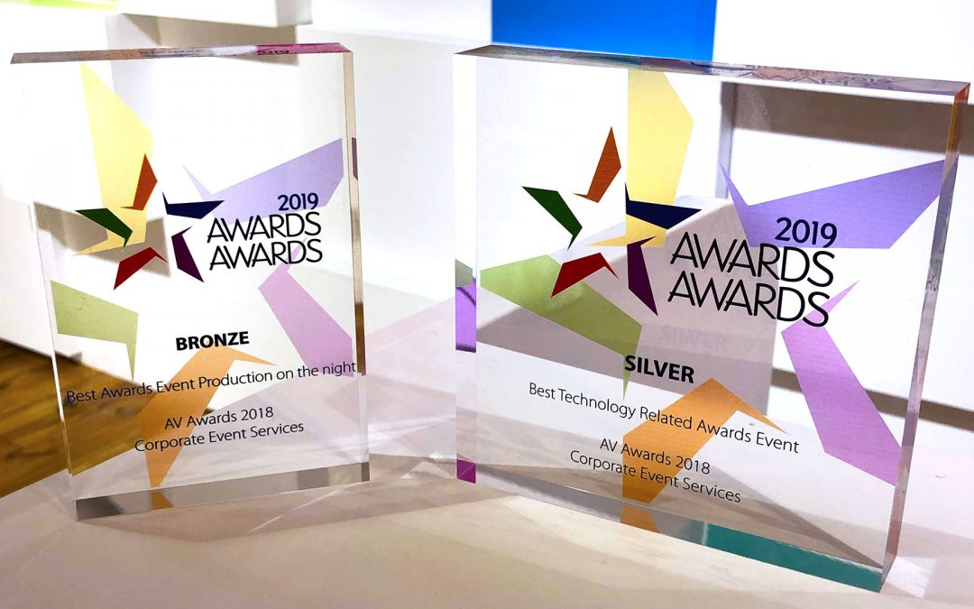 Double recognition for Corporate Events at the Awards Awards